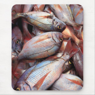 Fresh fish mouse pad