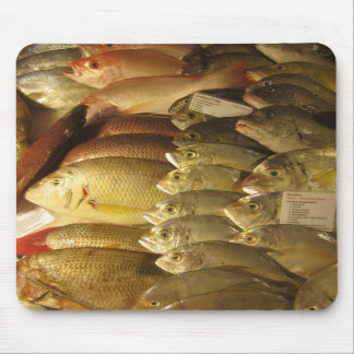 Fresh fish mouse pads