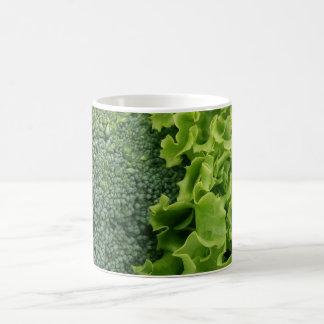 Fresh Food Lettuce and Broccoli Coffee Mug