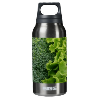 Fresh Food Lettuce and Broccoli Insulated Water Bottle