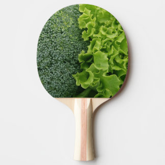 Fresh Food Lettuce and Broccoli Ping Pong Paddle