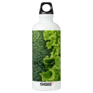 Fresh Food Lettuce and Broccoli Water Bottle