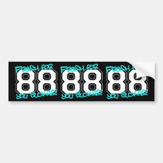 Fresh for '88 bumper sticker