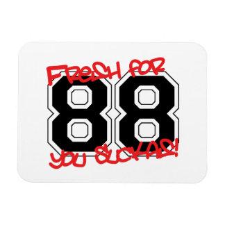 Fresh for '88 rectangular photo magnet