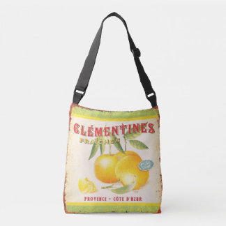 Fresh French Clementines Crossbody Bag