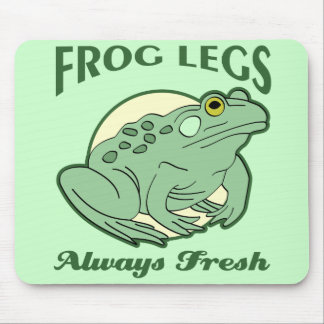 Fresh Frog Legs Mouse Pad