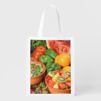 Fresh fruit and vegetables market tote