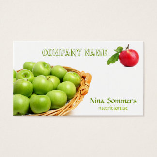 Fresh Fruit Business Card