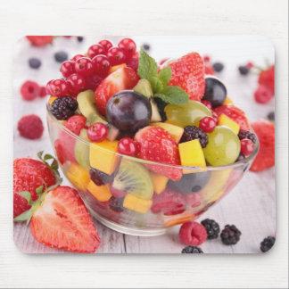 Fresh fruit salad mouse pad