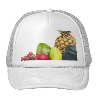 Fresh Fruits and Vegetables Layout Trucker Hat