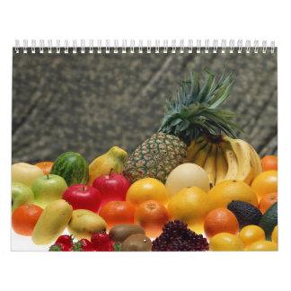 Fresh Fruits Calendar