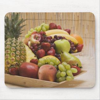 Fresh fruits mouse pad