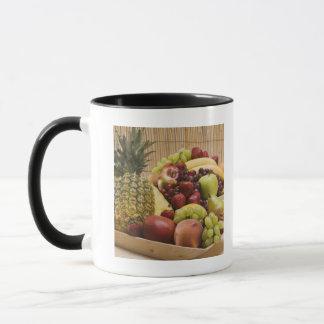 Fresh fruits mug