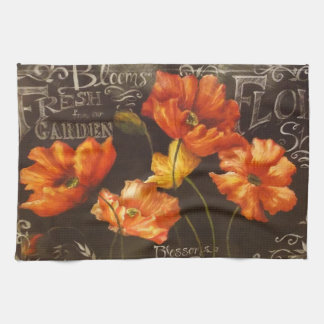 Fresh Garden Blooms Hand Towels