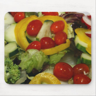 Fresh Garden Salad Mouse Pad