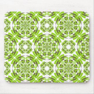 Fresh geometric pattern mouse pad