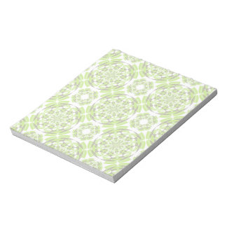 Fresh geometric pattern notepads
