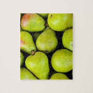 Fresh Green Pears Jigsaw Puzzle