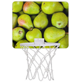 Fresh Green Pears Mini Basketball Hoop
