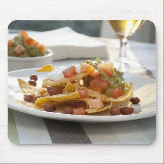 Fresh Guacamole and Nachos Mouse Pad