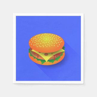 Fresh Hamburger Paper Napkins