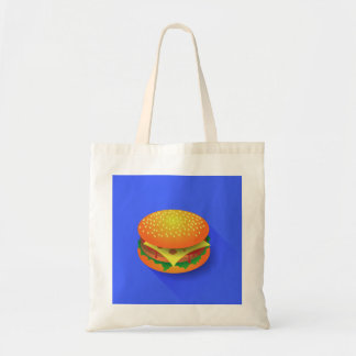 Fresh Hamburger Tote Bag