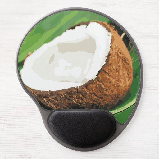 Fresh Hawaiian Coconuts Gel Mousepad