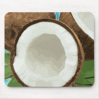 Fresh Hawaiian Coconuts Mouse Pad