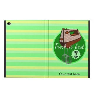 Fresh is best retro mixer design powis iPad air 2 case