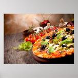 Fresh Italian pizza