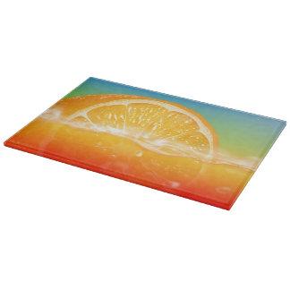 Fresh Juice designs Glass Cutting Board