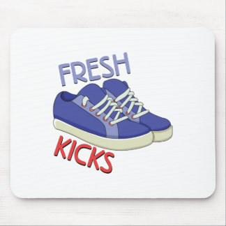 Fresh Kicks Mouse Pad