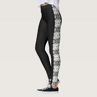 """Fresh Legs"" Side Pattern Leggings 3"