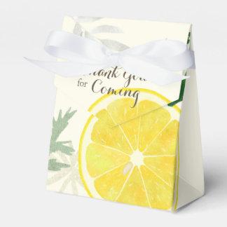 Fresh Lemon Favor Box
