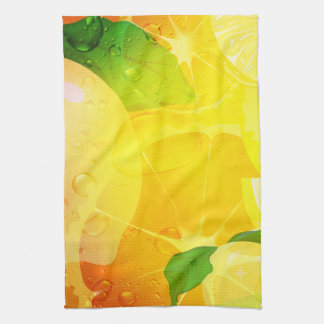 Fresh Lemon Slices American MoJo Towel
