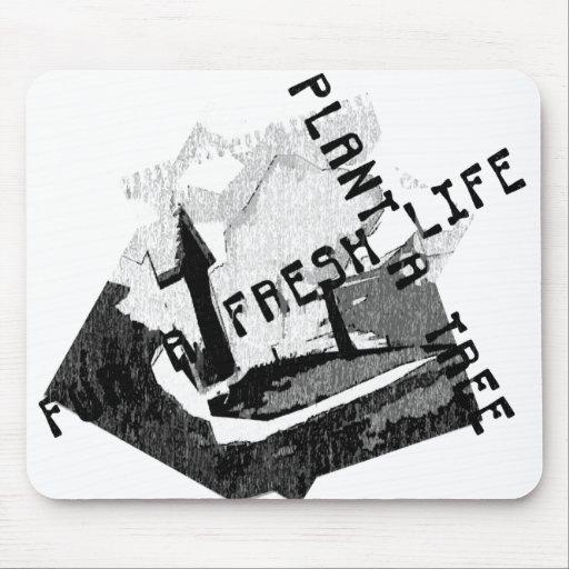 Fresh life Mousepad
