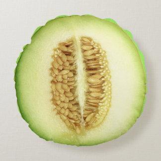 Fresh Melon Round Pillow
