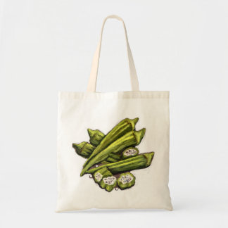 Fresh Okra Tote Bag