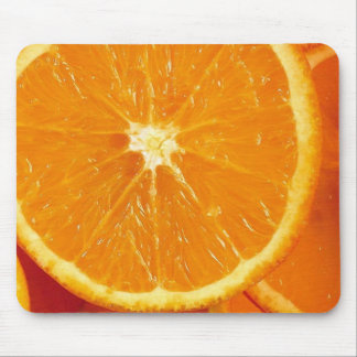 Fresh Oranges Mouse Pads
