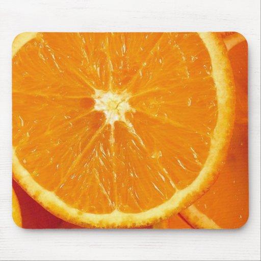 Fresh Oranges Mouse Pads