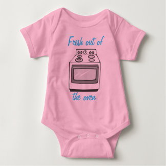Fresh out of the oven baby bodysuit