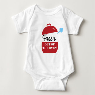 Fresh out the Oven Baby Bodysuit