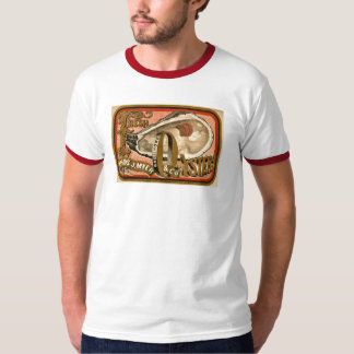 Fresh Oysters Vintage Advertisement circa 1870 T-Shirt