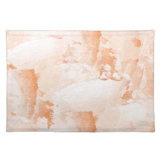 Fresh paint placemat