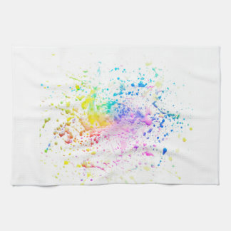 Fresh painting hand towels