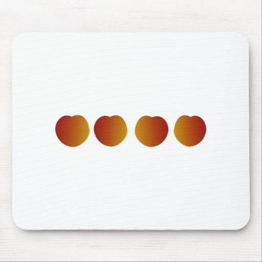Fresh Peaches Logo Mouse Pads