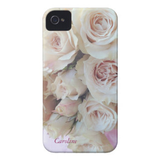 fresh pink rose bouquet iPhone 4/4S case