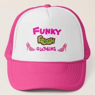 fresh, pinkpump, pink, Funky, Clothing Trucker Hat