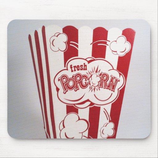 Fresh Popcorn Bag red Vintage Mousepads