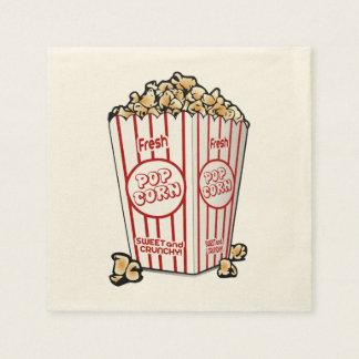 Fresh Popcorn Paper Napkins
